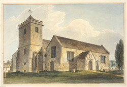 North-west view of Wilton church